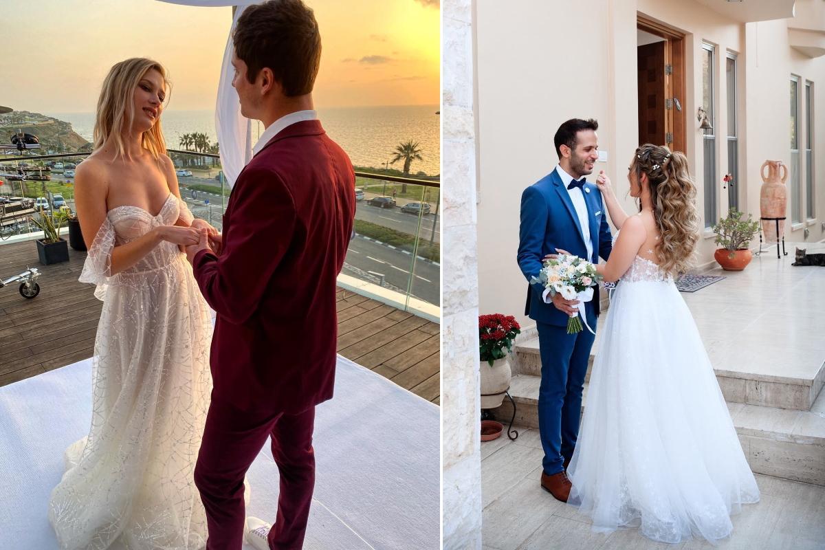 חתונה בחצר הבית