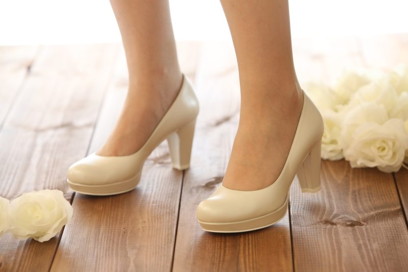 נעלי כלה לבנות