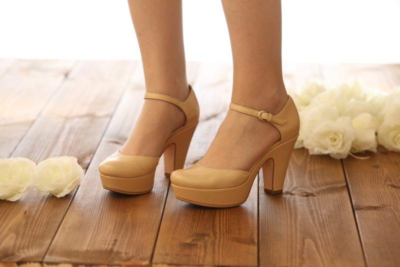 נעלי כלה עם עקב