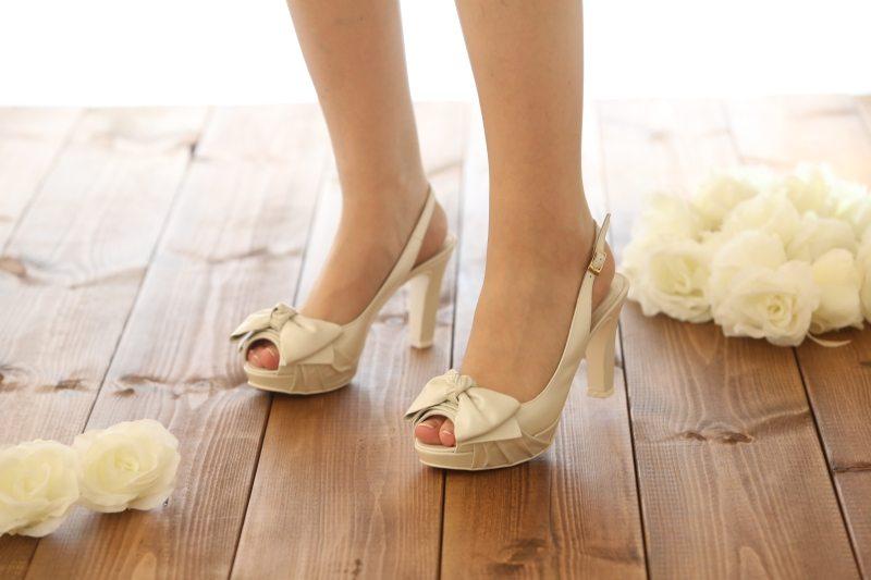 נעלי כלה על עקב