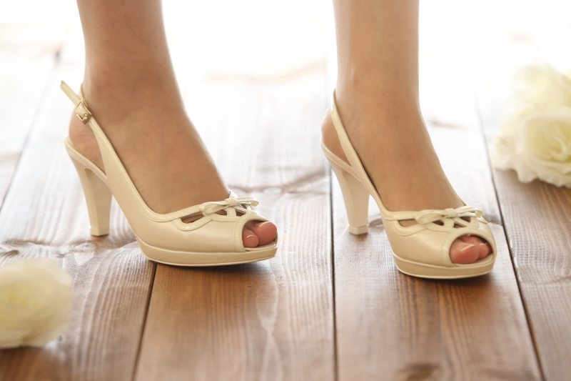 נעלי כלה פתוחות