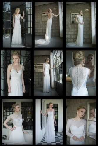 עיצוב שמלות כלה 2014
