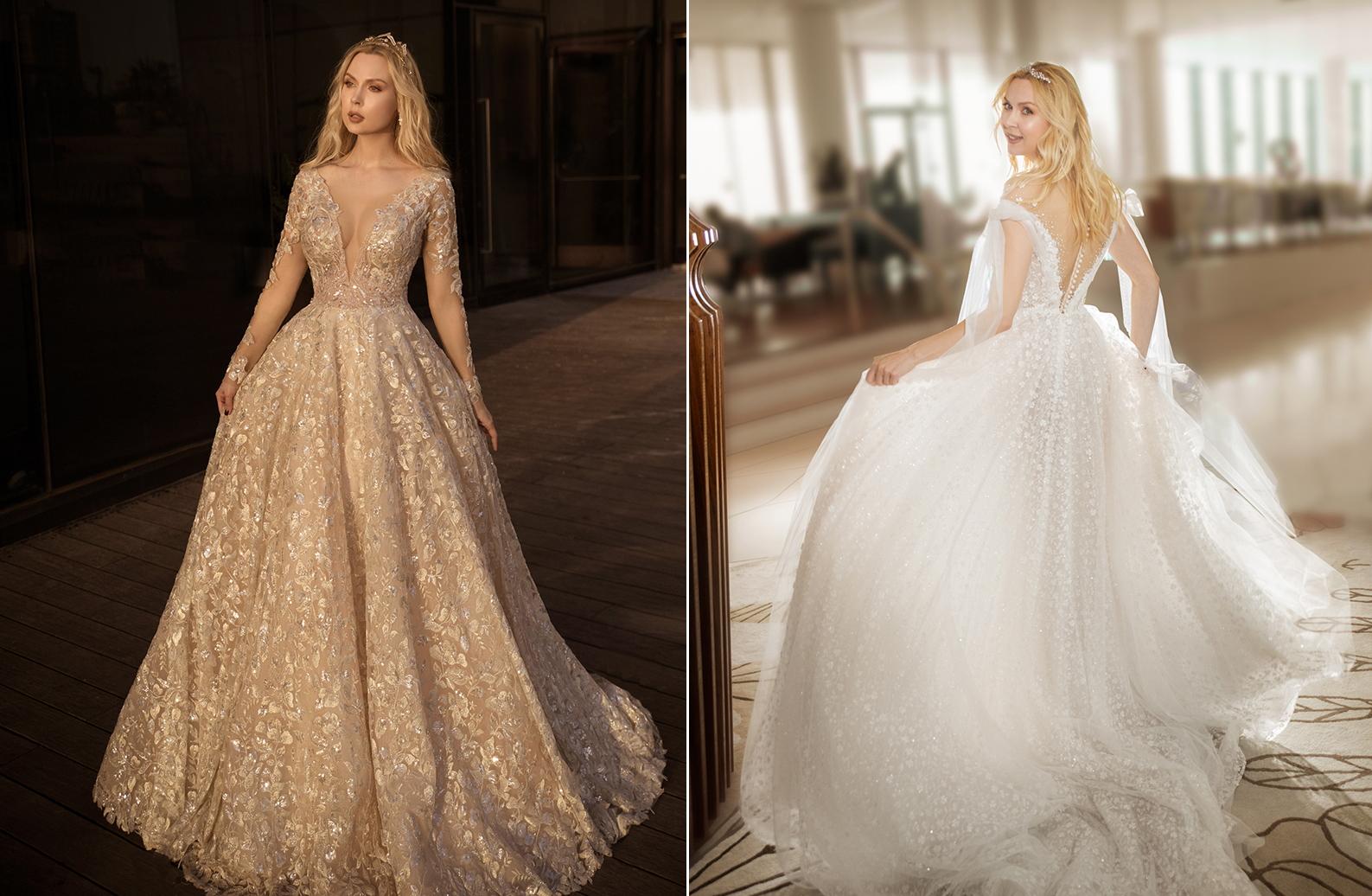 שמלות כלה נשף 2021