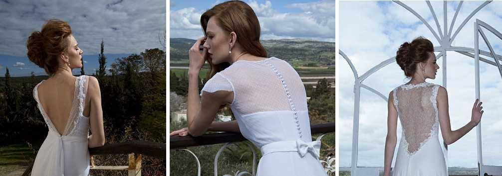 שמלות כלה עם גב פתוח