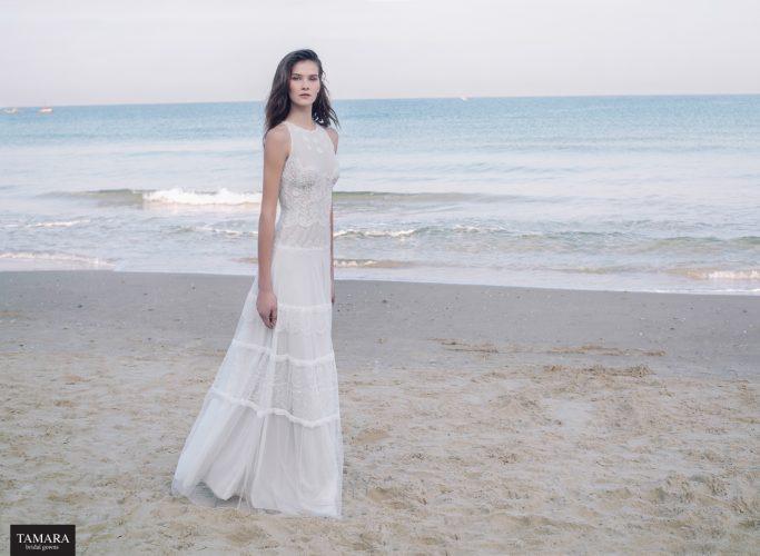 שמלת כלה עדינה
