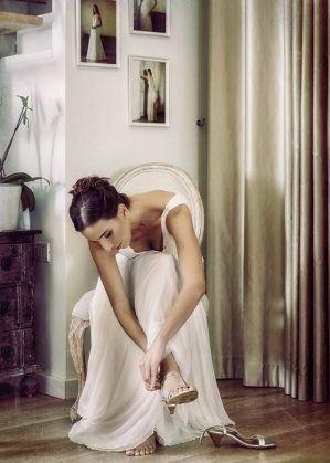 שמלת כלה אצילית נשפכת