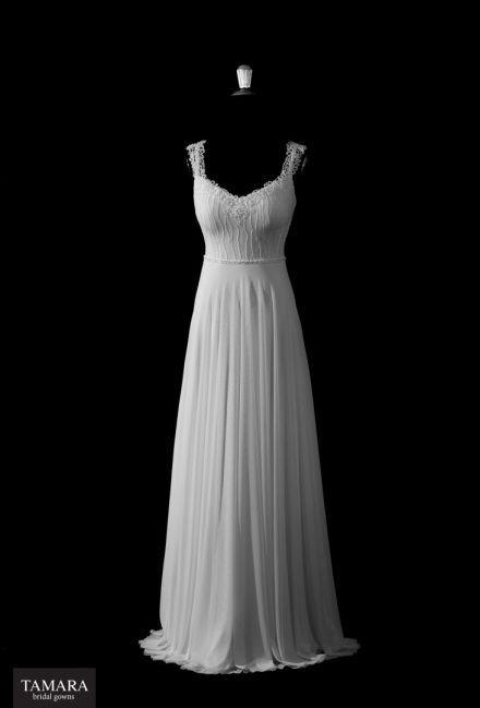 שמלת כלה רומנטית מחמיאה
