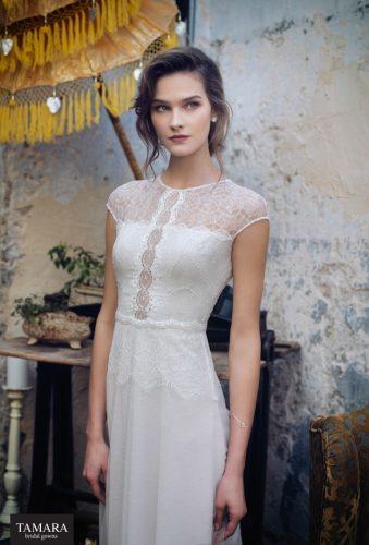 שמלת כלה וינטאג' אלגנטית מתחרה