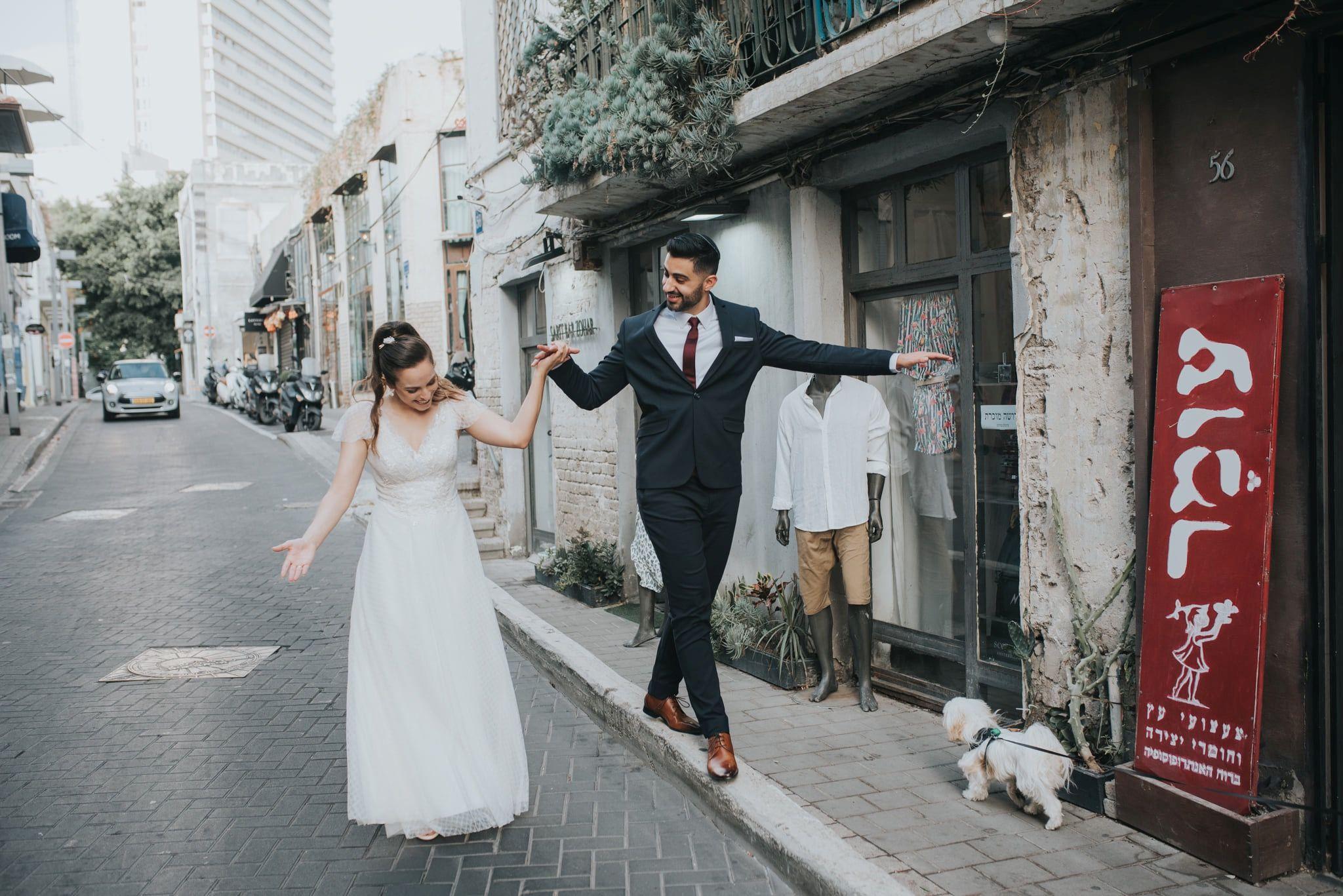 שמלת כלה כפרית רומנטית