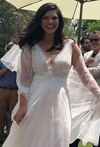שמלת כלה קלאסית של כרמל