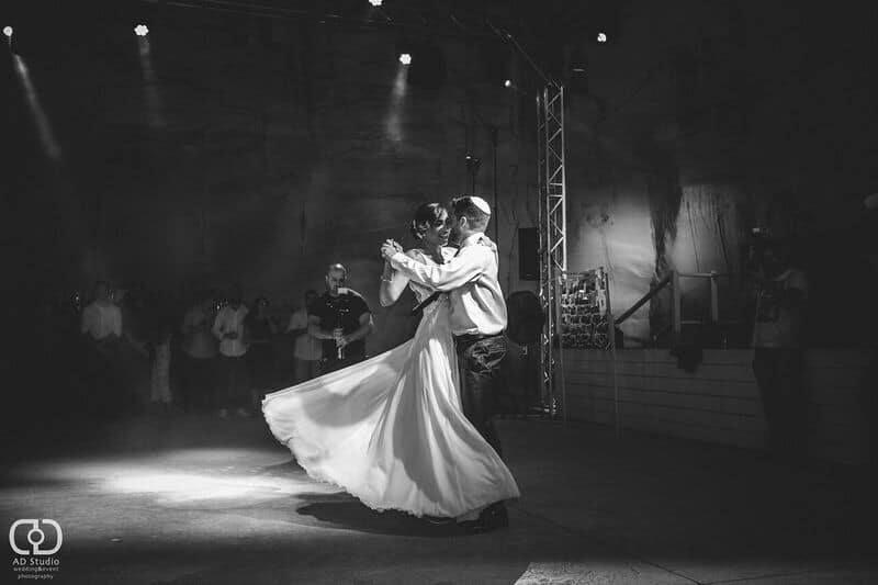 שמלת כלה לרחבת הריקודים