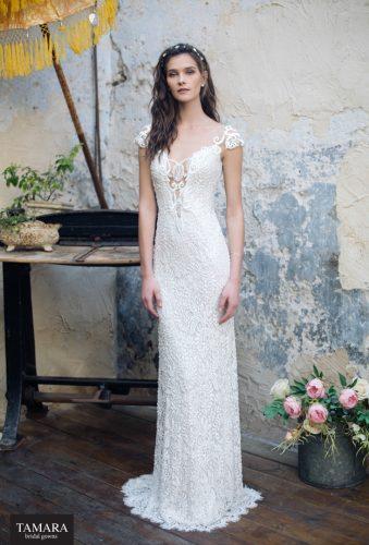 שמלת כלה תחרה בסגנון וינטאג'