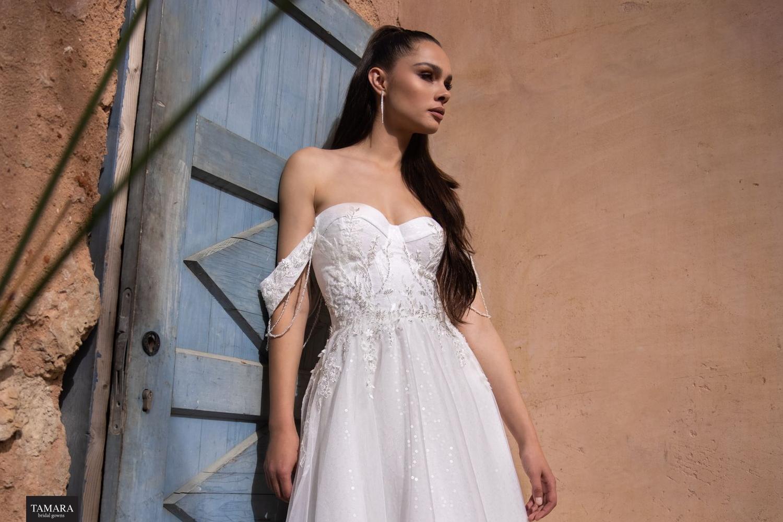 שמלת כלה מחוך סטרפלס