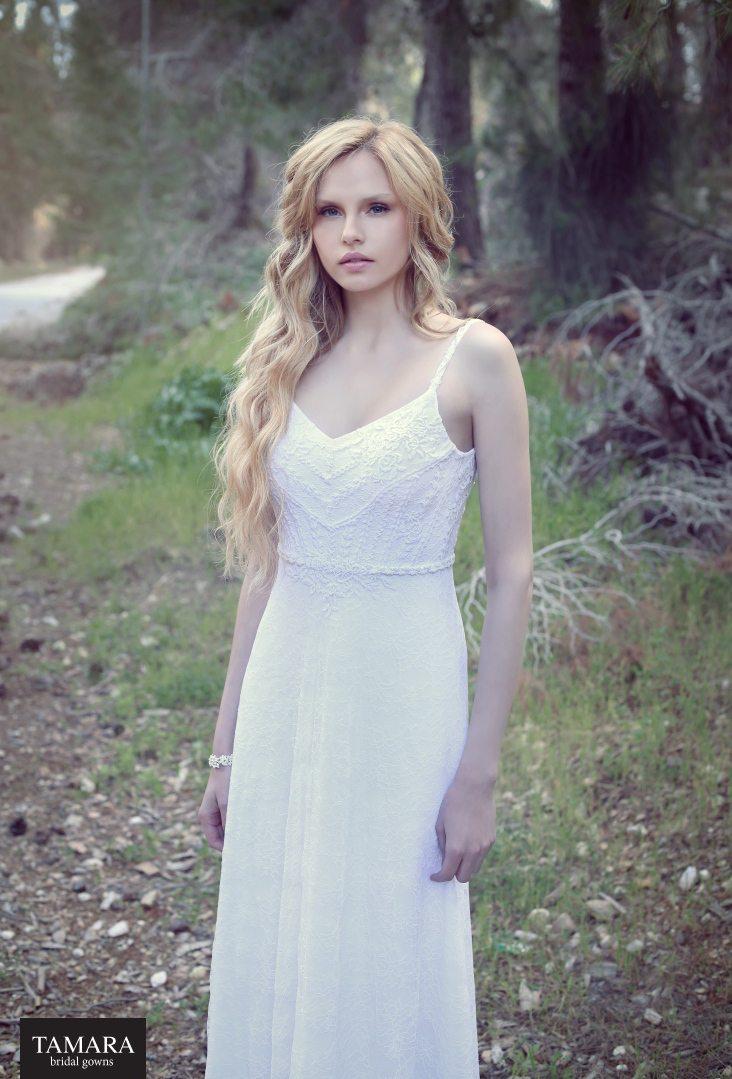שמלת כלה מחשוף
