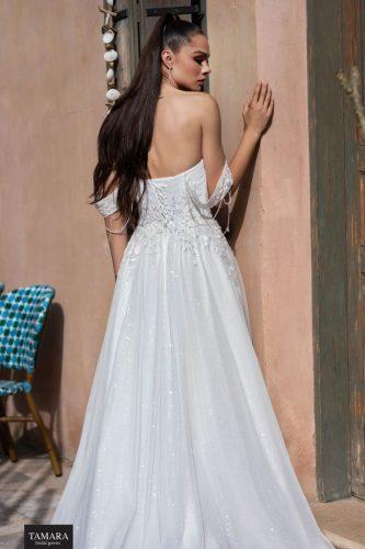 שמלת כלה קלאסית לבנה