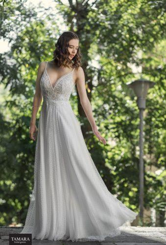 שמלת כלה קלאסית עם תחרה