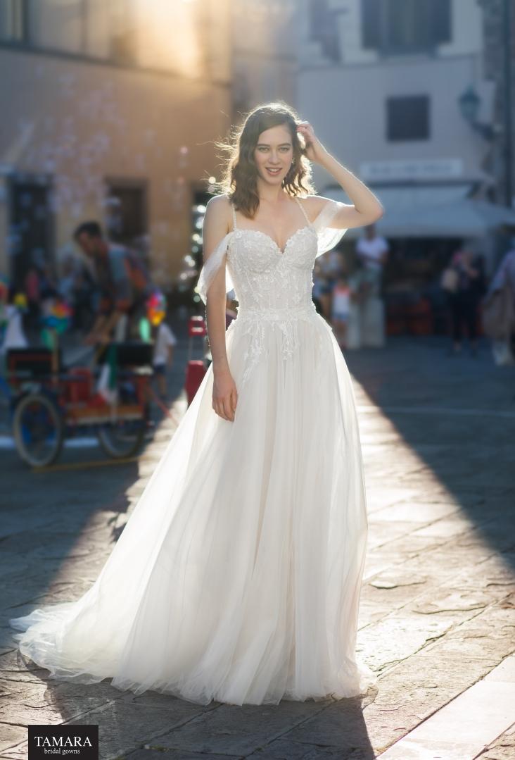שמלת כלה קלאסית שיפון