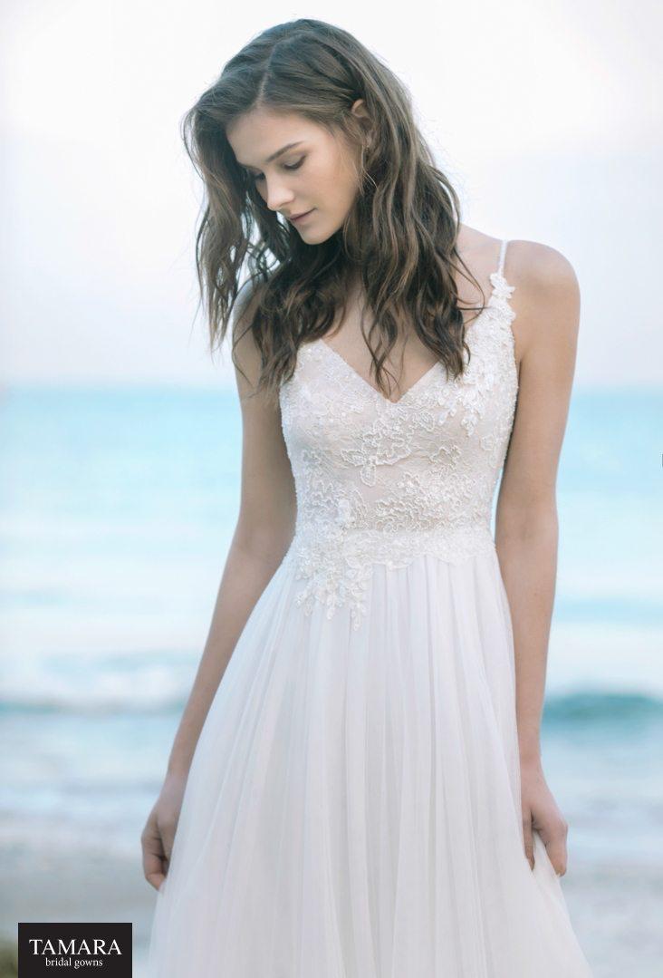 שמלת כלה רקומה