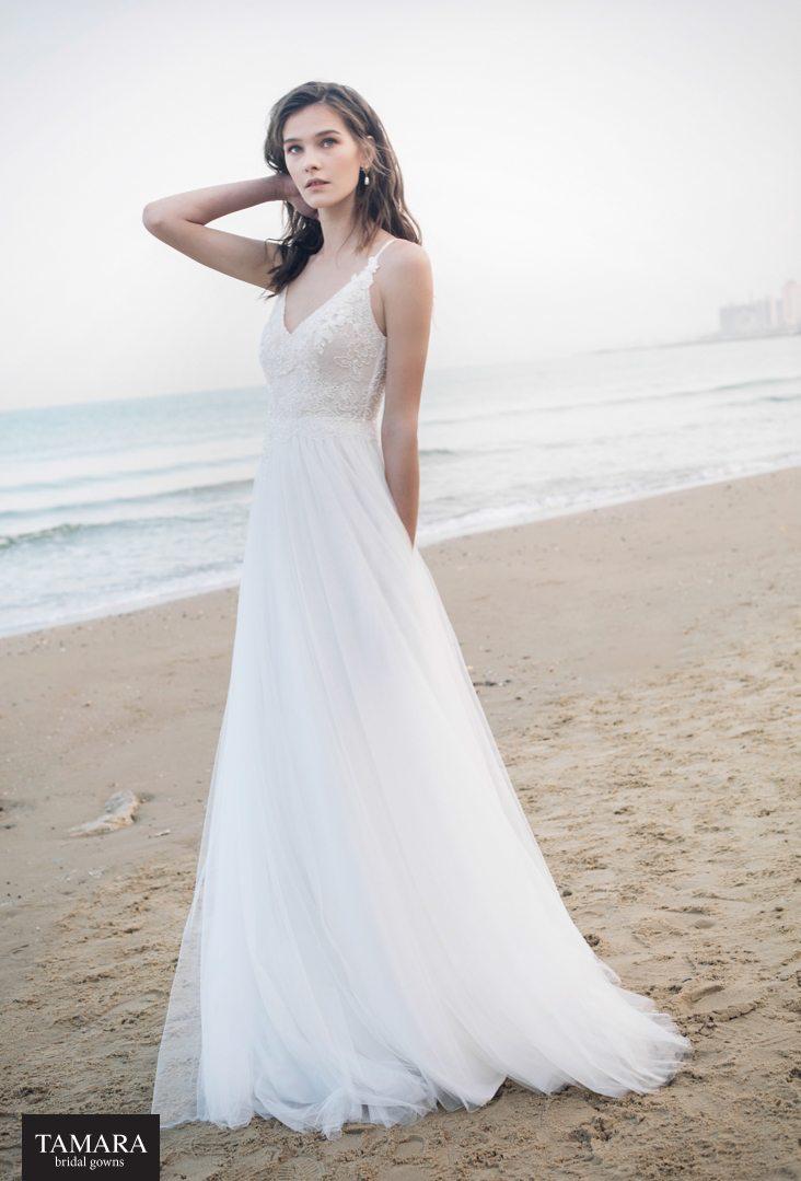 שמלת כלה קלאסית שמלת כלה נסיכותית שמלות כלה Tamara