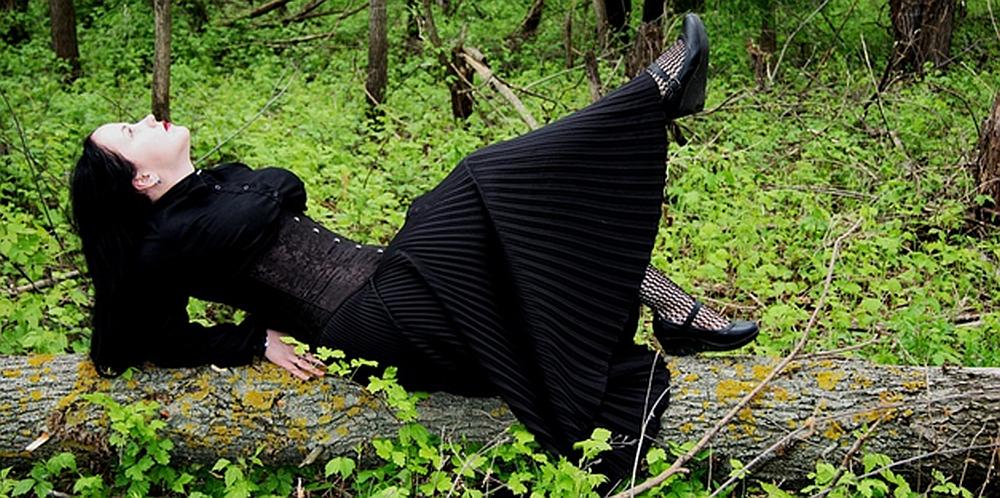 שמלת כלה שחורה