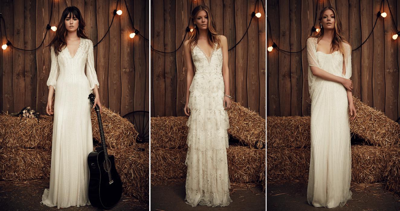 שמלות כלה 2017 - Jenny Packham