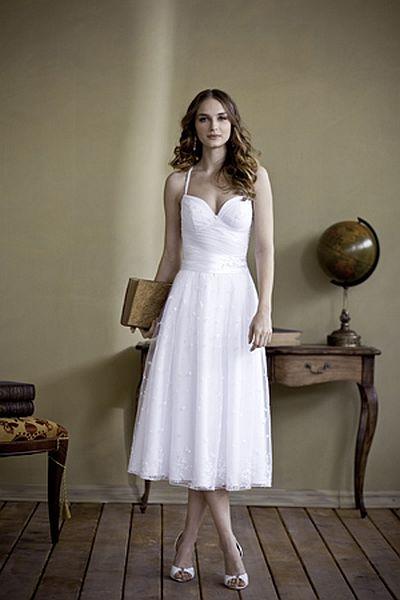 שמלת כלה קצרה אצילית