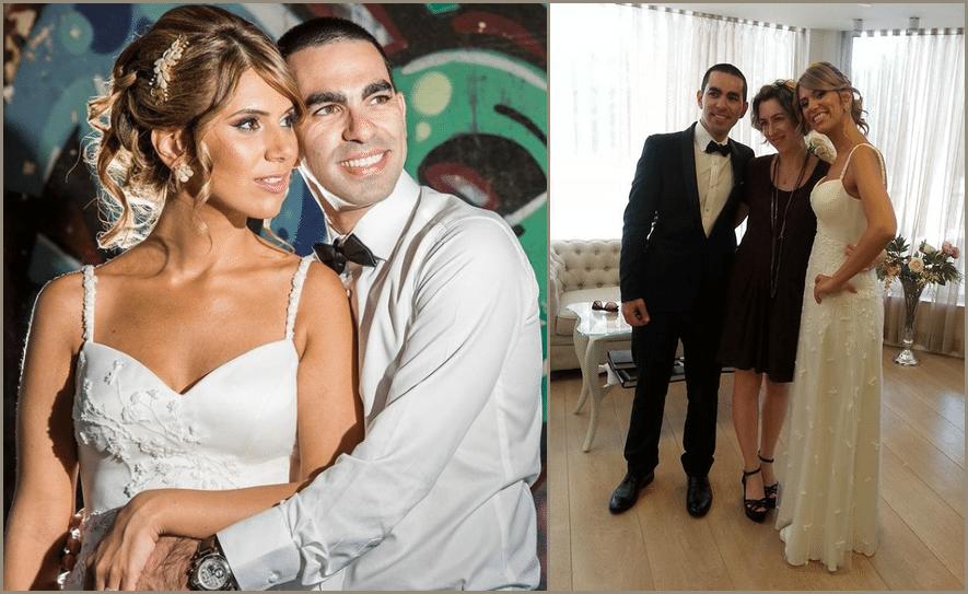 שמלת כלה סאקורה - החתונה של לירז וחניאל