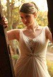 שמלת כלה רומנטית משיפון