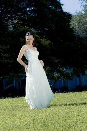 שמלת כלה מבד נקי ונשפך