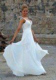 שמלת כלה קלאסית משיפון