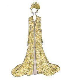 שמלת כלה של Camilla Parker Bowles