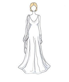 שמלת כלה של Carolyn Bessette