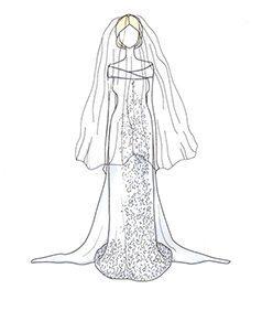 שמלת כלה של Charlene Wittstock