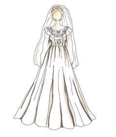 שמלת כלה של Lady Diana