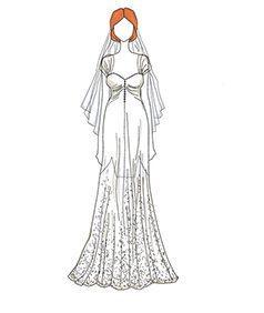 שמלת כלה של Alyson Hannigan