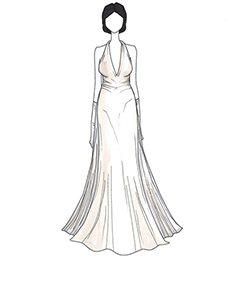שמלת כלה של Iman
