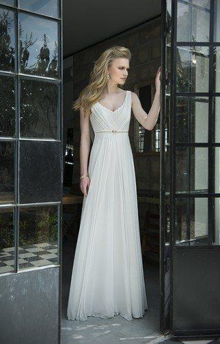 שמלת כלה משיפון