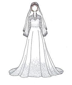שמלת כלה של Kate Middleton