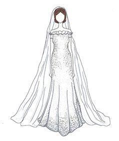 שמלת כלה של Katie Holmes