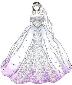 שמלת כלה של Anne Hathaway