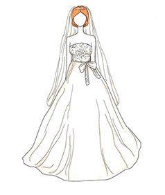 שמלת כלה של Marcia Cross
