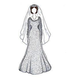 שמלת כלה של מרלין מונרו