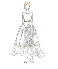 שמלת כלה של Olivia Palermo