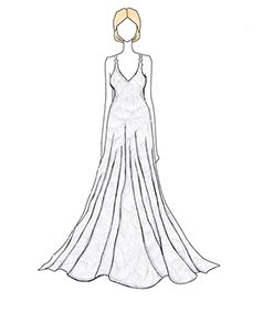 שמלת כלה של Rebecca Romijn