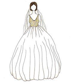 שמלת כלה של Salma Hayek