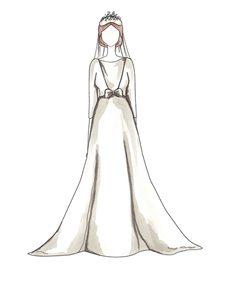שמלת כלה של Audrey Hepburn
