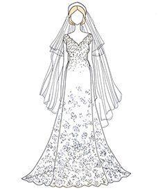 שמלת כלה של טרישה ניקסון