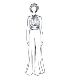 שמלת כלה של Wallis Simpson