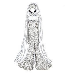 שמלת כלה של וויטני יוסטון