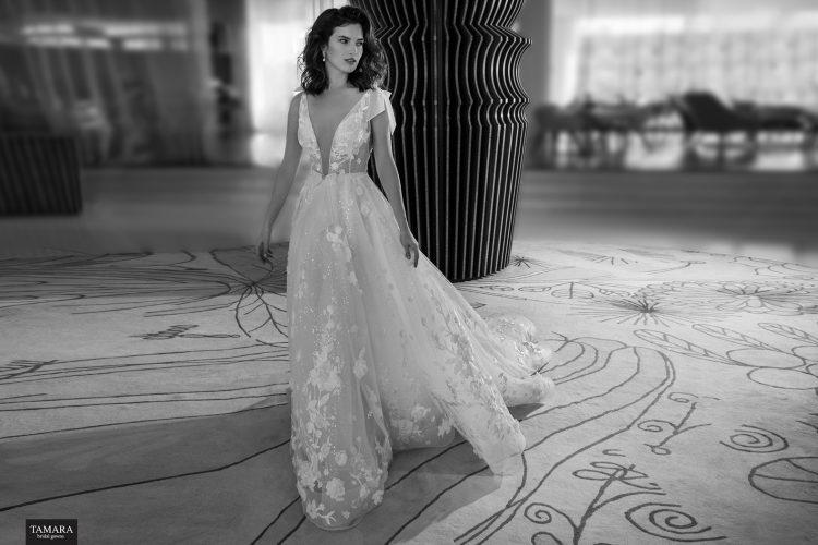 שמלת כלה עם חגורה